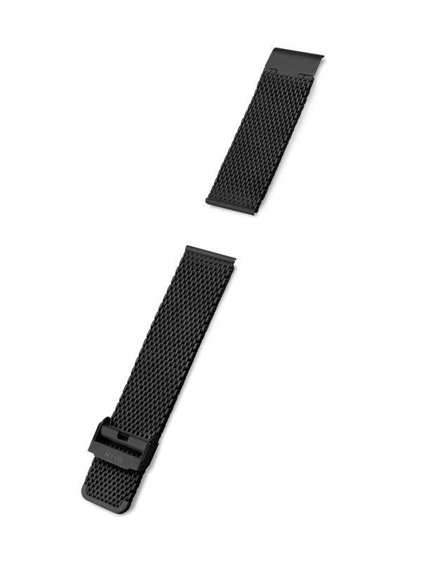 KHS Armband Maschenband Stahlband 22mm