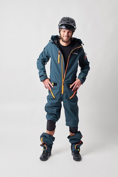 dirtlej core edition steel blue Matschoverall